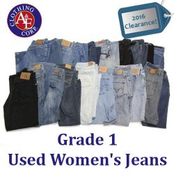 Wholesale Used Women Jeans Clearance