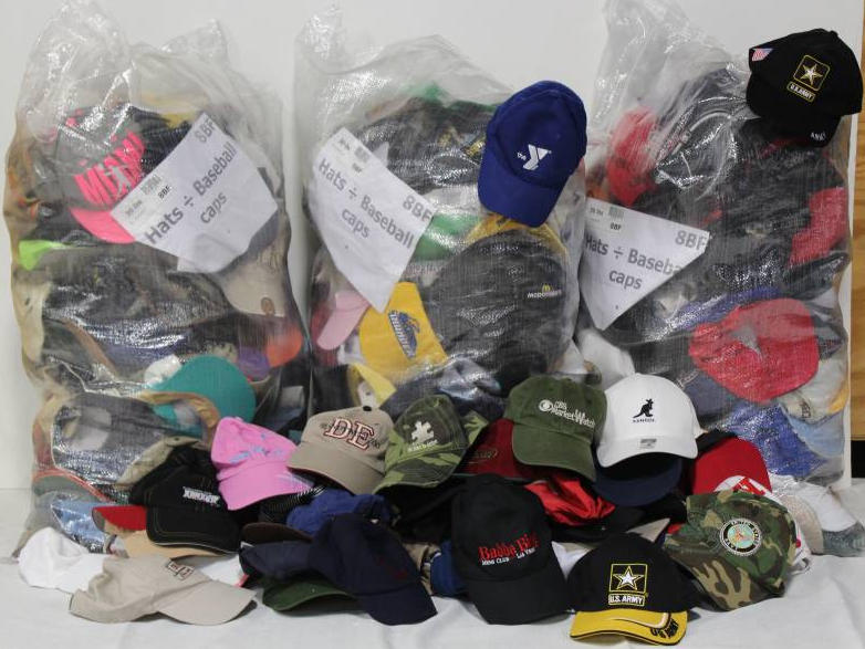 Used Baseball Caps