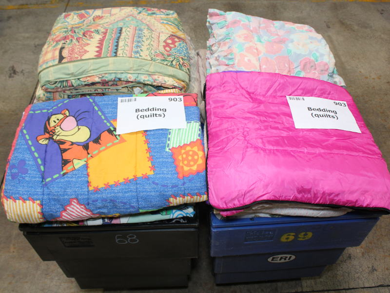 Used Bed Quilts, Spreads And Blankets