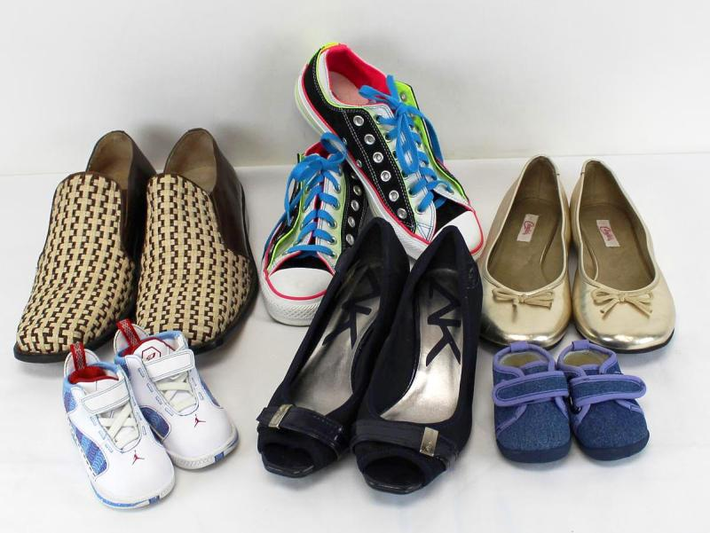 Used Shoes Mix
