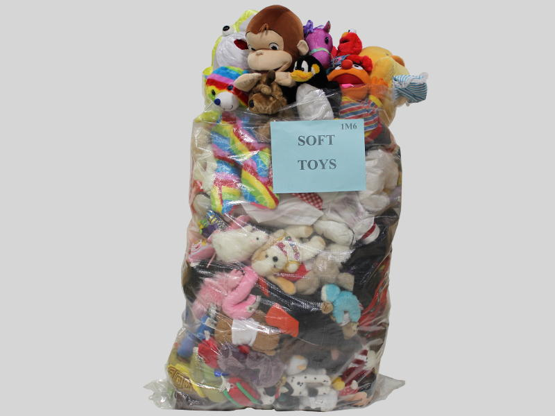 Used Soft Toys Bags