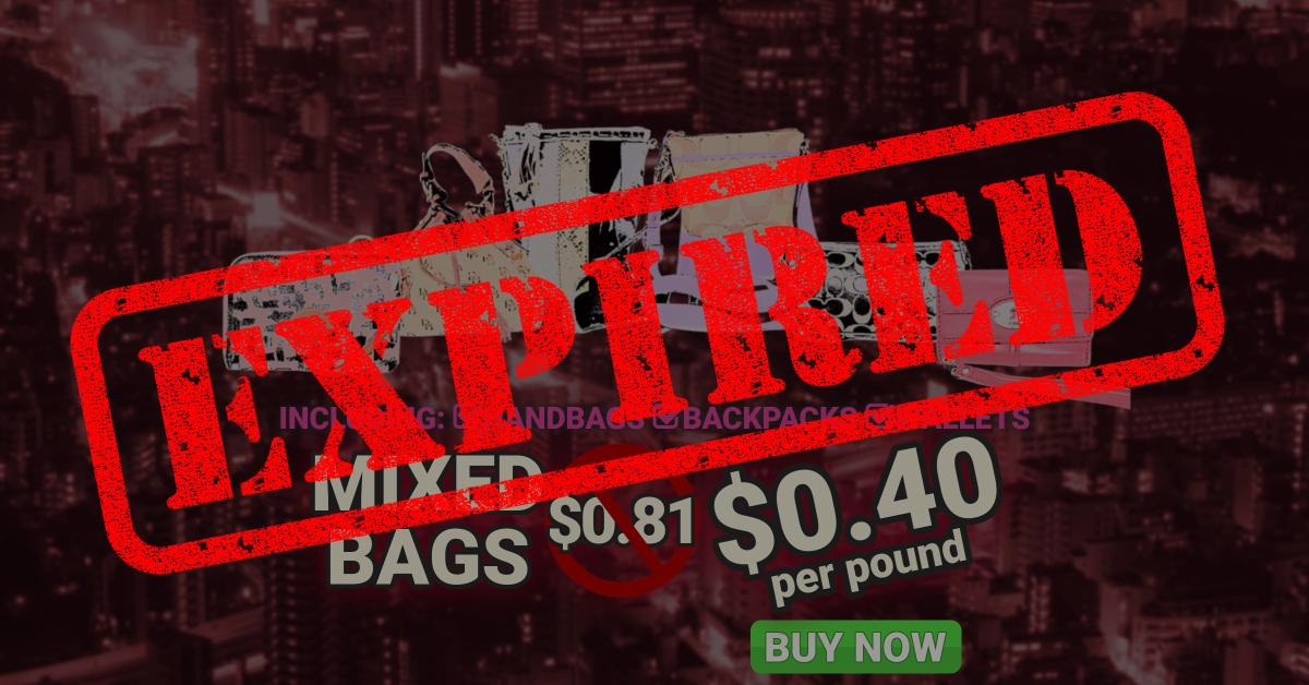 Mixed Bags Offer Expired