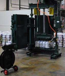 A&E Clothing baling press