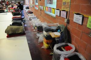 A&E Clothing - sorting used clothing